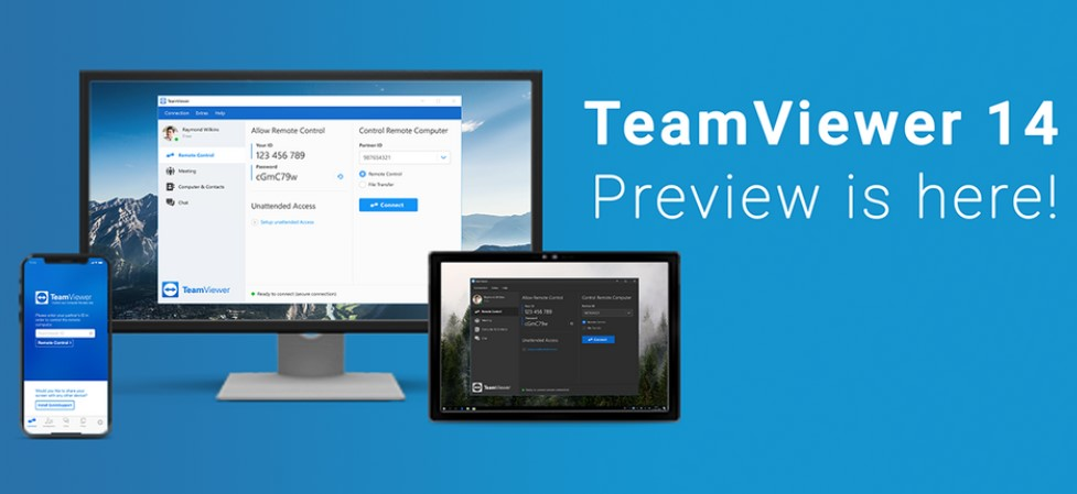 TeamViewer 14 5 5819 0 Crack + License Keys Free Download